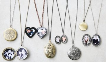 10 Beautiful Photo Lockets Necklace for Women