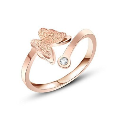 beauty-rose-gold-butterfly-ring