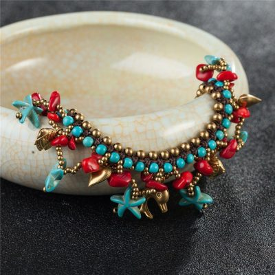 starfish-charm-anklets